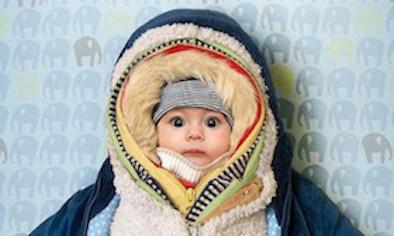 Những lưu ý khi giữ ấm cho trẻ trong mùa đông