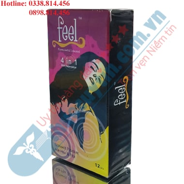 BAO CAO SU FEEL 4 IN 1 HỘP 12 CHIẾC CHỐNG XUẤT TINH SỚM