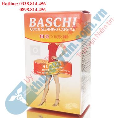 Viên uống giảm cân Baschi