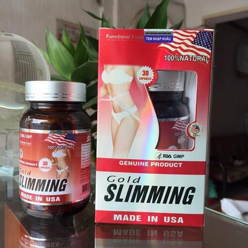 Thuốc Gold Slimming